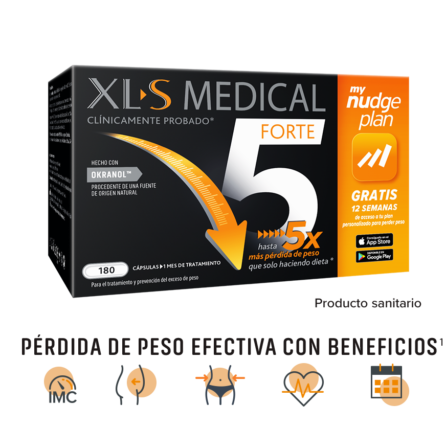 Pastillas para perder peso XL-S Medical Forte 5